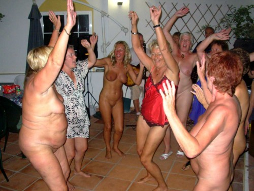 Naked Party Night